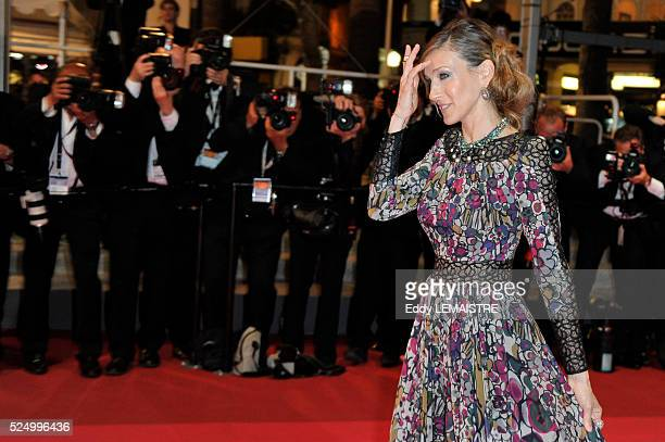 Sarah Jessica Parker at the premiere of 'Wu Xia' during the 64th Cannes International Film Festival