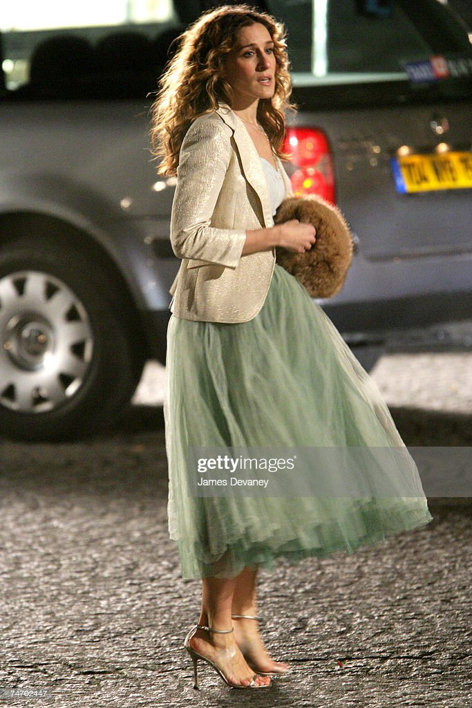 Sarah Jessica Parker at the Streets of Paris in Paris, France.