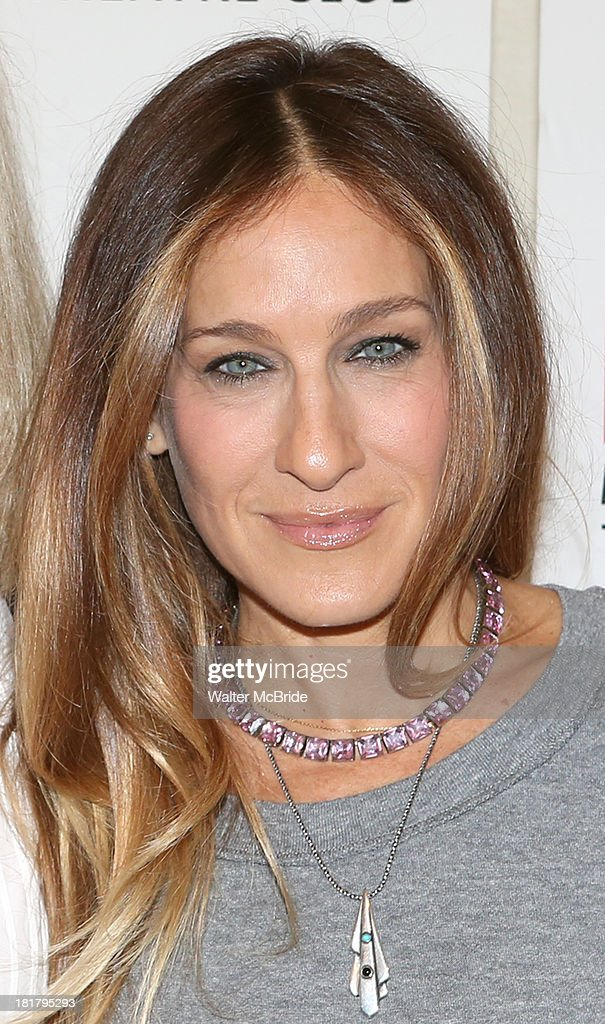 <a gi-track='captionPersonalityLinkClicked' href=/galleries/search?phrase=Sarah+Jessica+Parker&family=editorial&specificpeople=201693 ng-click='$event.stopPropagation()'>Sarah Jessica Parker</a> attending the Meet & Greet for the MTC Production of 'The Commons of Pensacola' at the Manhattan Theatre Club Rehearsal Studios on September 25, 2013 in New York City.