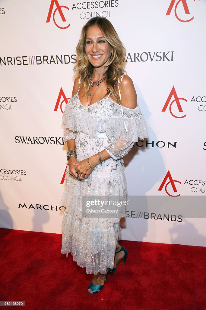 Sarah Jessica Parker attends 20th Anniversary of the ACE Awards at Cipriani 42nd Street on August 2 2016 in New York City