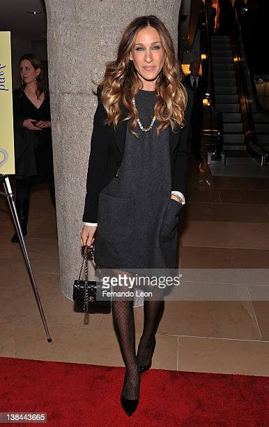 Sarah Jessica Parker attends Ali Wentworth's 'Ali In Wonderland And Other Tall Tales' book launch at Sotheby's on February 6 2012 in New York City