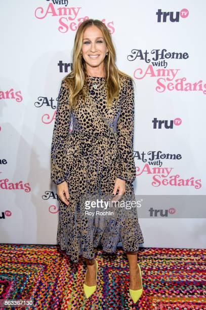 Sarah Jessica Parker attends 'At Home With Amy Sedaris' New York Screening at The Bowery Hotel on October 19 2017 in New York City