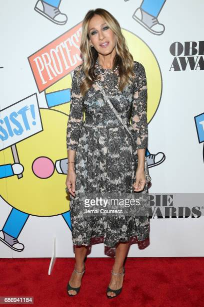 Sarah Jessica Parker attends at the 2017 Obie Awards at Webster Hall on May 22 2017 in New York City