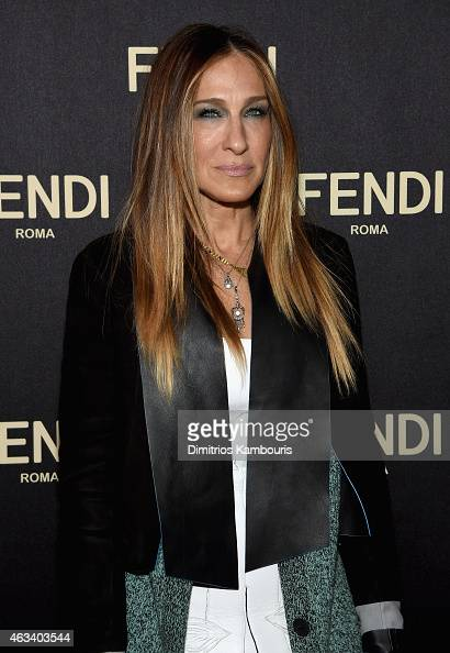 Sarah Jessica Parker attends FENDI celebrates the opening of the New York flagship store on February 13 2015 in New York City