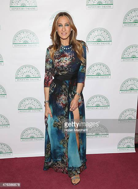 Sarah Jessica Parker attends Irish Repertory Theatre's YEATS The Celebration at Town Hall on June 8 2015 in New York City