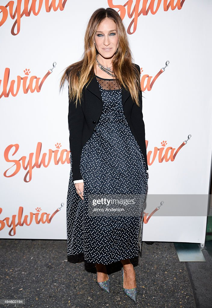 """Sylvia"" Opening Night - Arrivals & Curtain Call"