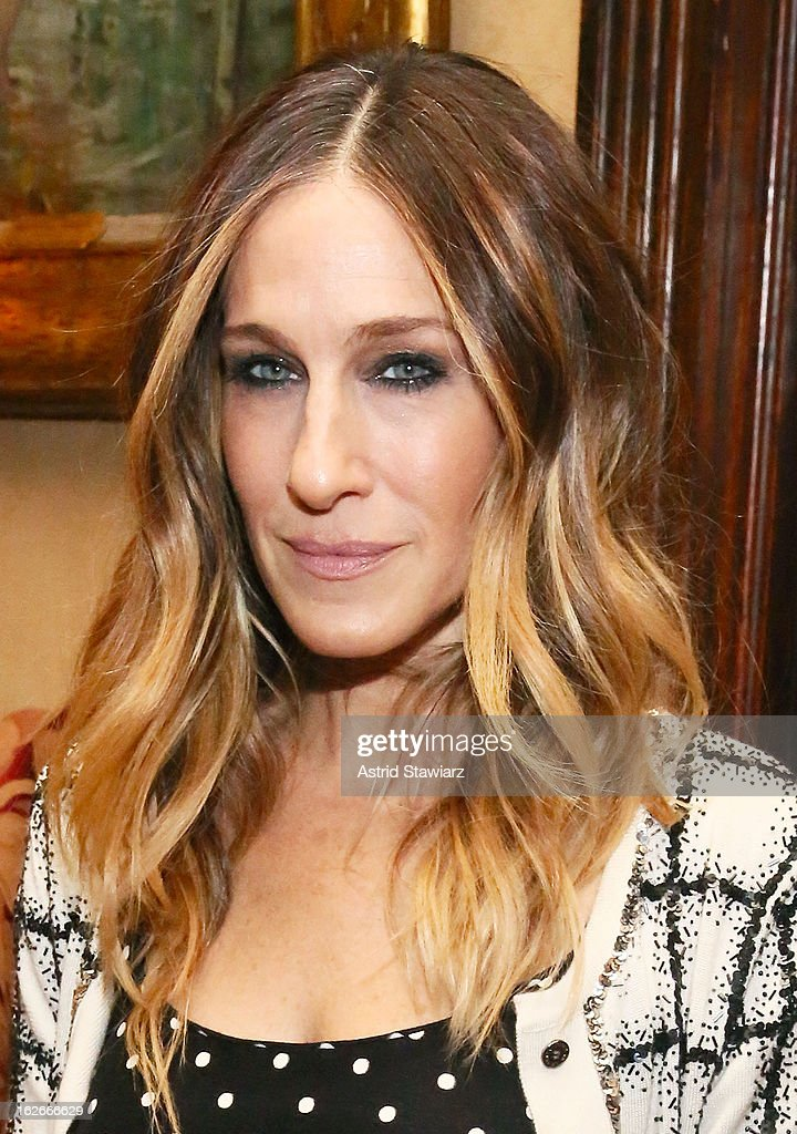 <a gi-track='captionPersonalityLinkClicked' href=/galleries/search?phrase=Sarah+Jessica+Parker&family=editorial&specificpeople=201693 ng-click='$event.stopPropagation()'>Sarah Jessica Parker</a> attends the 10th Annual Love 'N' Courage Benefit For TNC's Emerging Playwrights Program at The National Arts Club on February 25, 2013 in New York City.