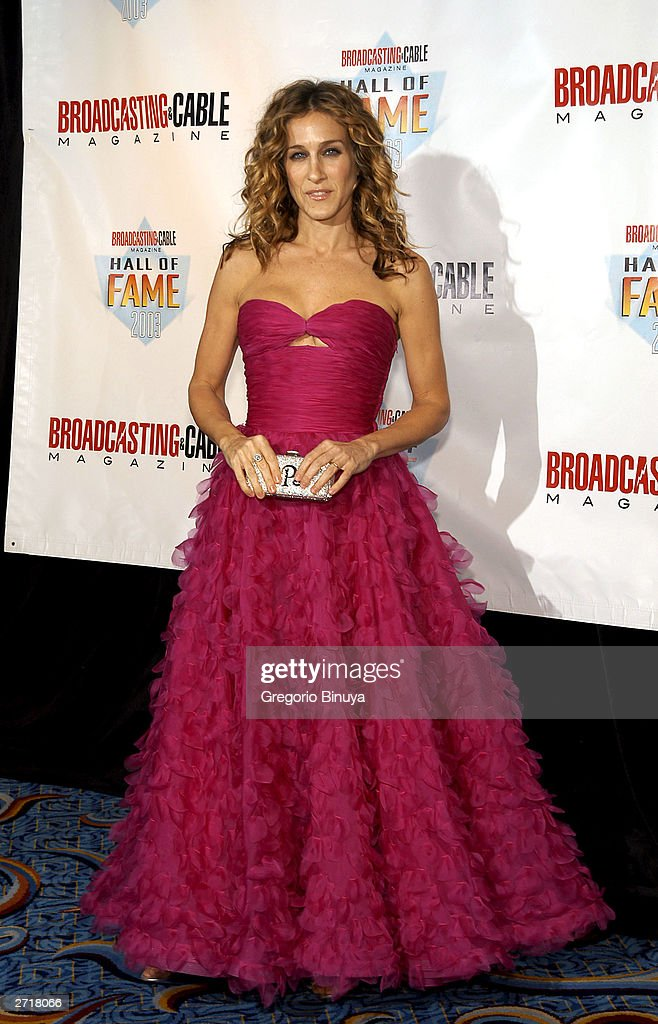 <a gi-track='captionPersonalityLinkClicked' href=/galleries/search?phrase=Sarah+Jessica+Parker&family=editorial&specificpeople=201693 ng-click='$event.stopPropagation()'>Sarah Jessica Parker</a> attends the 13th Annual Broadcasting & Cable Magazine Hall of Fame on November 10, 2003, in New York.