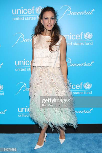 Sarah Jessica Parker attends the 2011 UNICEF Snowflake ball at Cipriani 42nd Street on November 29 2011 in New York City
