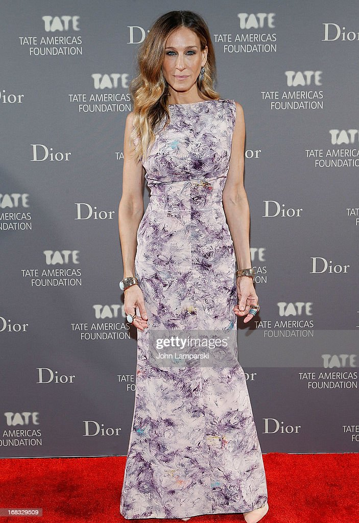 <a gi-track='captionPersonalityLinkClicked' href=/galleries/search?phrase=Sarah+Jessica+Parker&family=editorial&specificpeople=201693 ng-click='$event.stopPropagation()'>Sarah Jessica Parker</a> attends the 2013 Tate Americas Foundation Artists Dinner at Skylight Studios at Moynihan Station on May 8, 2013 in New York City.