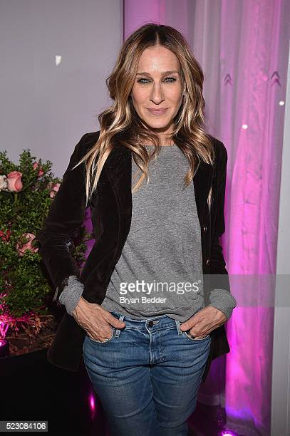 Sarah Jessica Parker attends the #ActuallySheCan Film Series event at Hotel Americano on April 21 2016 in New York City