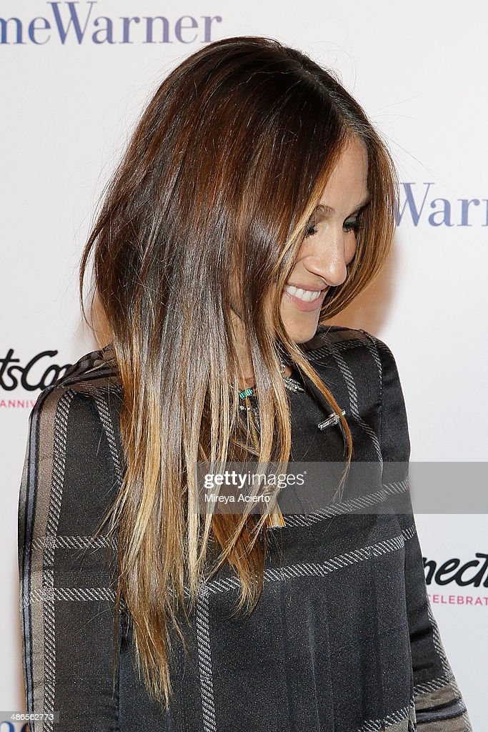 Sarah Jessica Parker attends the ArtsConnection 35th Anniversary Spring Benefit at 583 Park Avenue on April 24, 2014 in New York City.