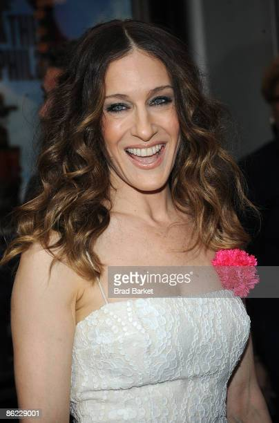 Sarah Jessica Parker attends the Broadway opening night of 'The Philanthropist' at the Roundabout Theatre Company's American Airlines Theatre on...