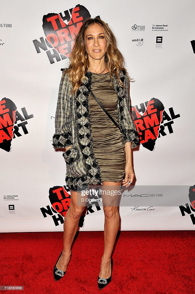Sarah Jessica Parker attends the Broadway opening night of 'The Normal Heart' at The Golden Theatre on April 27, 2011 in New York City.