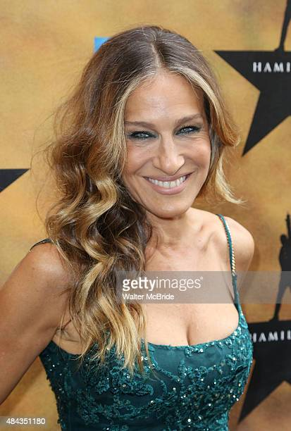 Sarah Jessica Parker attends the Broadway Opening Night Performance of 'Hamilton at the Richard Rodgers Theatre on August 6 2015 in New York City