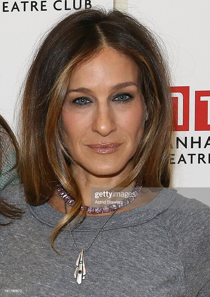 <a gi-track='captionPersonalityLinkClicked' href=/galleries/search?phrase=Sarah+Jessica+Parker&family=editorial&specificpeople=201693 ng-click='$event.stopPropagation()'>Sarah Jessica Parker</a> attends 'The Commons Of Pensacola' Off Broadway cast photo call at Manhattan Theatre Club Rehearsal Studios on September 25, 2013 in New York City.