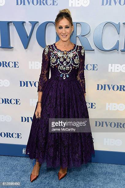 Sarah Jessica Parker attends the 'Divorce' New York Premiere at SVA Theater on October 4 2016 in New York City