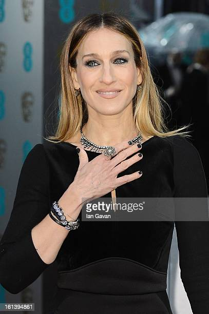 Sarah Jessica Parker attends the EE British Academy Film Awards at The Royal Opera House on February 10 2013 in London England