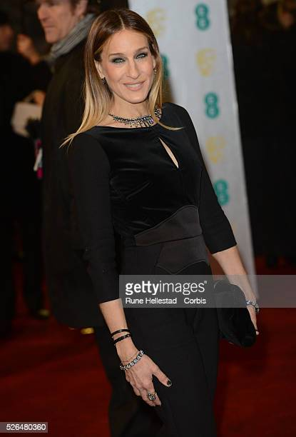 Sarah Jessica Parker attends the EE British Academy Film Awards at the Royal Opera House