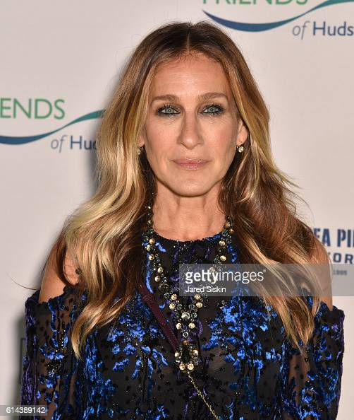 Sarah Jessica Parker attends the Friends of Hudson River Park Gala at Pier 60 on October 13 2016 in New York City
