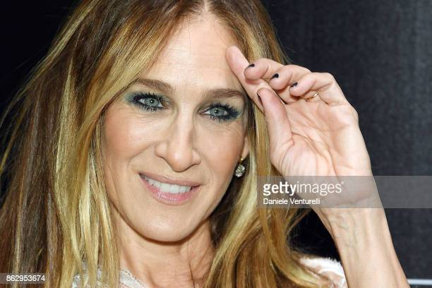 Sarah Jessica Parker attends the Intimissimi Grand Opening on October 18 2017 in New York United States