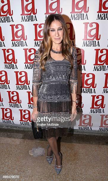 Sarah Jessica Parker attends the La Mama Fall 2015 Gala at La Mama Theatre on November 2 2015 in New York City