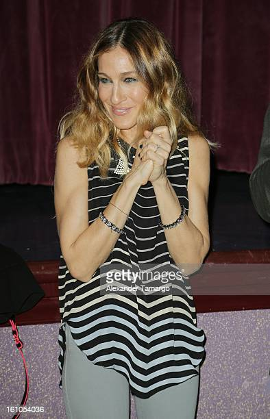 Sarah Jessica Parker attends the Miami Rhapsody 30th Anniversary Celebration screening presented by Miami International Film Festival on February 8...