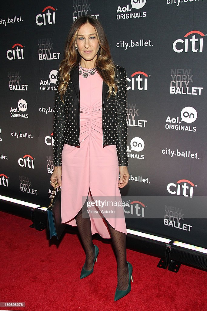 Sarah Jessica Parker attends the New York series premiere of 'cityballet' at Tribeca Cinemas on November 4 2013 in New York City