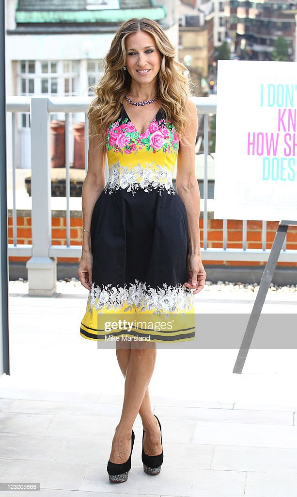 Sarah Jessica Parker attends the photocall for film 'I Don't Know How She Does It' at Soho Hotel on September 1 2011 in London England