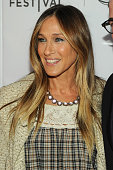 Sarah Jessica Parker attends the premiere of 'Dirty Weekend' during the 2015 Tribeca Film Festival at Regal Battery Park 11 on April 19 2015 in New...