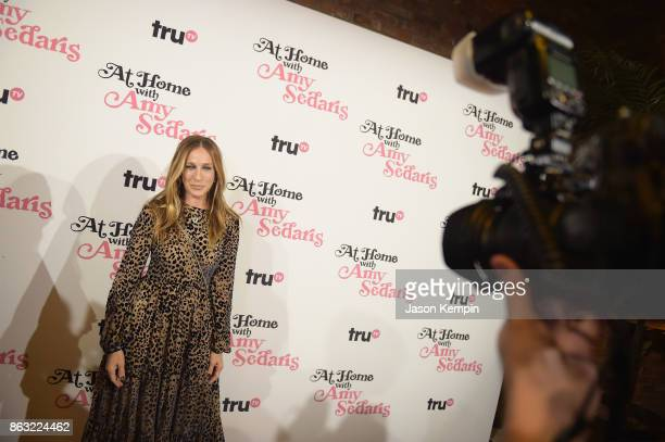 """Sarah Jessica Parker attends the premiere screening and party for truTV's new comedy series """"At Home with Amy Sedaris"""" at The Bowery Hotel on October..."""