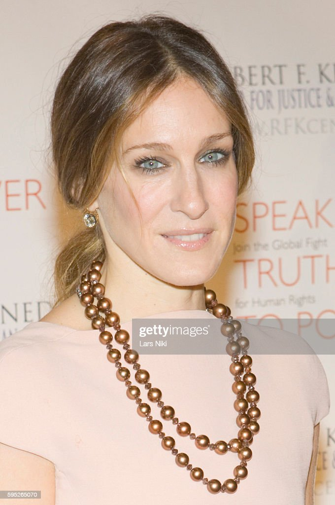 Sarah Jessica Parker attends the 'Robert F Kennedy Center For Justice Human Rights Bridge Dedication Gala' at Pier 60 in New York City