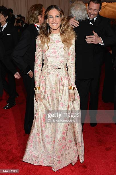 Sarah Jessica Parker attends the 'Schiaparelli And Prada Impossible Conversations' Costume Institute Gala at the Metropolitan Museum of Art on May 7...