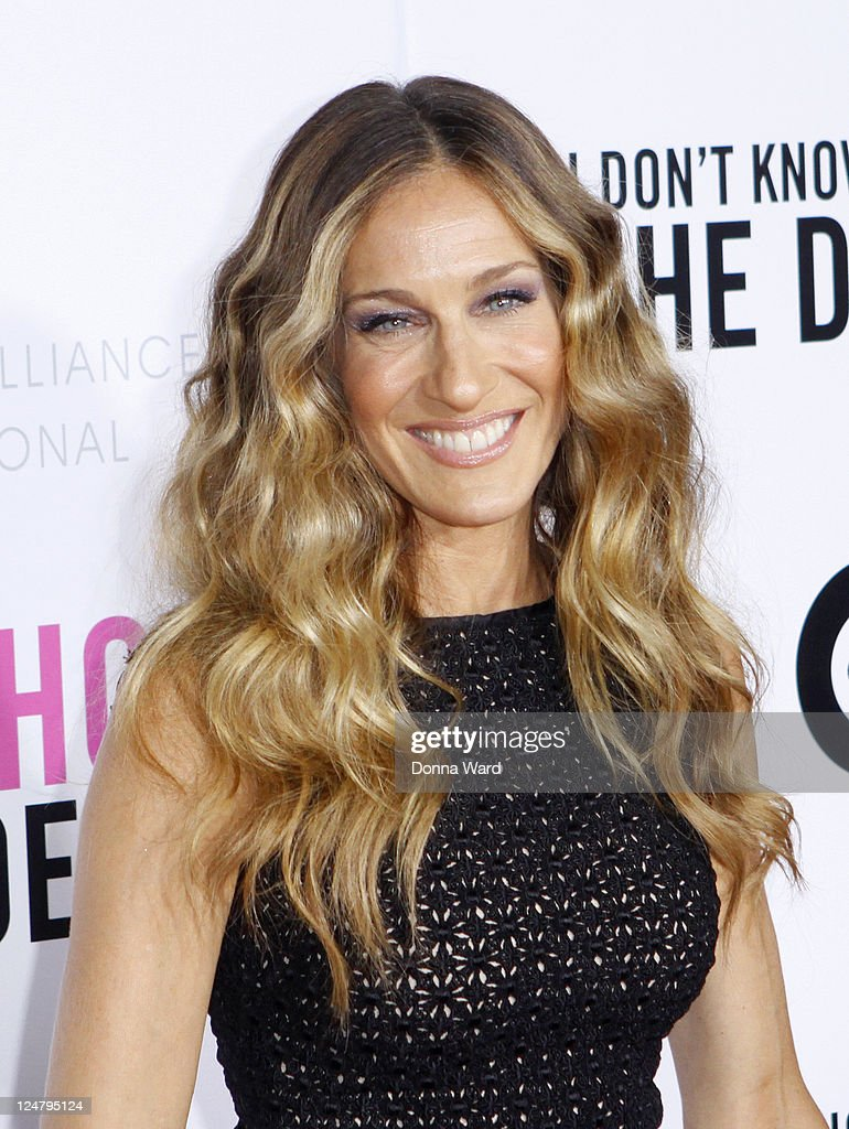 Sarah Jessica Parker attends The Weinstein Company The Cinema Society With QVC Palladium premiere of 'I Don't Know How She Does It' at AMC Loews...