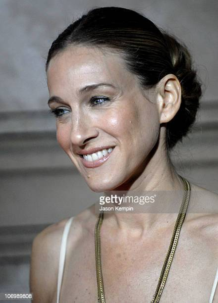 Sarah Jessica Parker during Cartier and Interview Magazine Celebrate The Cartier Charity Love Bracelet at The Cartier Mansion in New York City New...