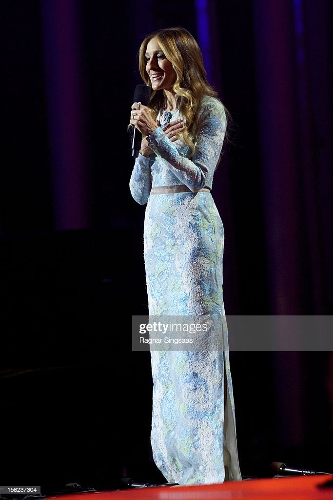 Sarah Jessica Parker hosts the Nobel Peace Prize Concert at Oslo Spektrum on December 11, 2012 in Oslo, Norway.
