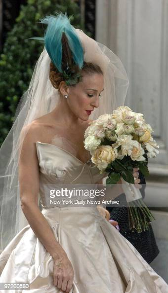 Wedding dress sex stock photos and pictures getty images for Sarah jessica parker wedding dress