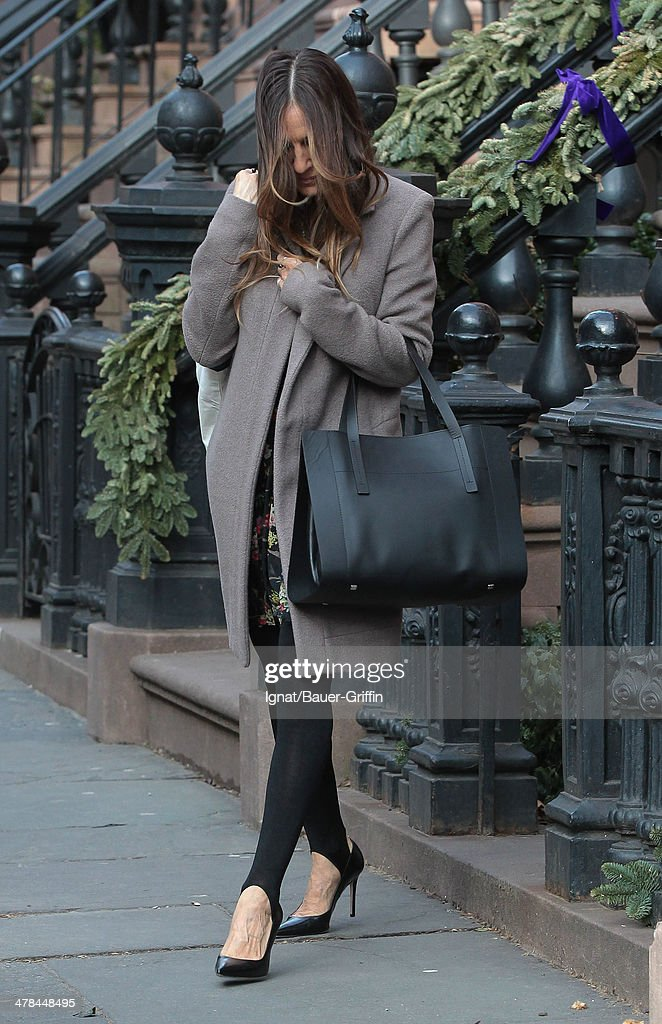 Sarah Jessica Parker is seen on March 13, 2014 in New York City.