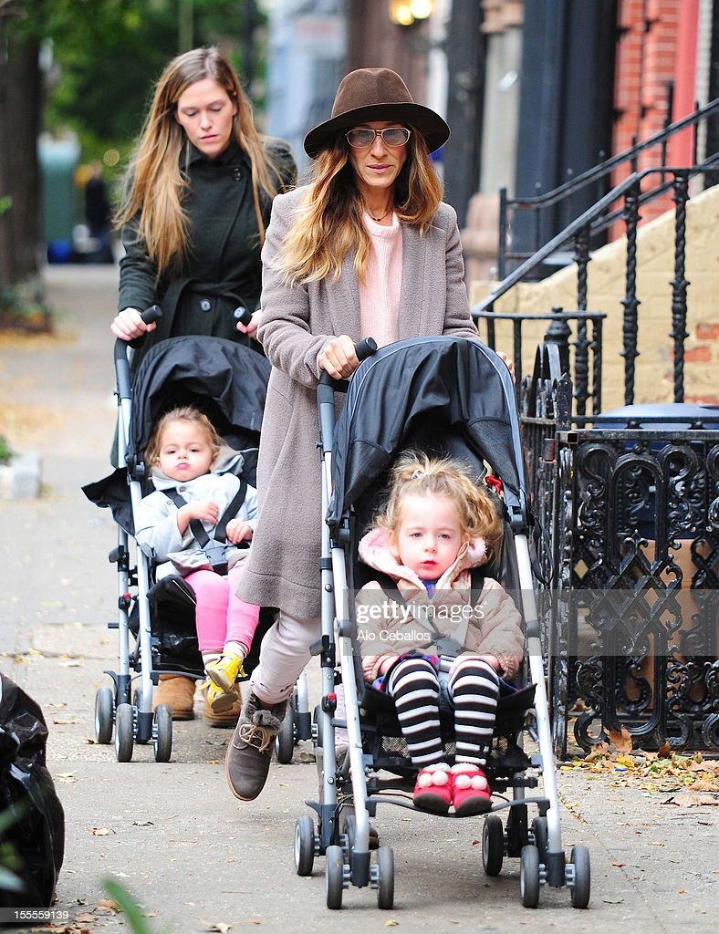 <a gi-track='captionPersonalityLinkClicked' href=/galleries/search?phrase=Sarah+Jessica+Parker&family=editorial&specificpeople=201693 ng-click='$event.stopPropagation()'>Sarah Jessica Parker</a>, <a gi-track='captionPersonalityLinkClicked' href=/galleries/search?phrase=Marion+Loretta+Elwell+Broderick&family=editorial&specificpeople=5947260 ng-click='$event.stopPropagation()'>Marion Loretta Elwell Broderick</a> and <a gi-track='captionPersonalityLinkClicked' href=/galleries/search?phrase=Tabitha+Hodge+Broderick&family=editorial&specificpeople=5947262 ng-click='$event.stopPropagation()'>Tabitha Hodge Broderick</a> are seen in the West Village at Streets of Manhattan on November 5, 2012 in New York City.