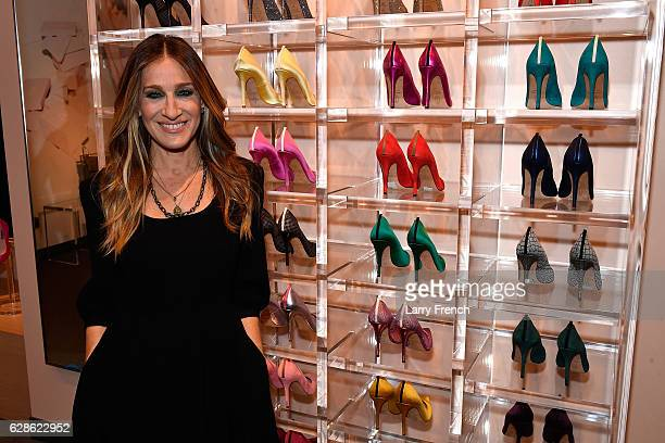 Sarah Jessica Parker opens her first standalone boutique at the MGM National Harbor Grand Opening Celebration on December 8 2016 in National Harbor...