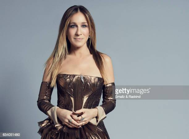 Sarah Jessica Parker poses for a portrait at the 2017 People's Choice Awards at the Microsoft Theater on January 18 2017 in Los Angeles California