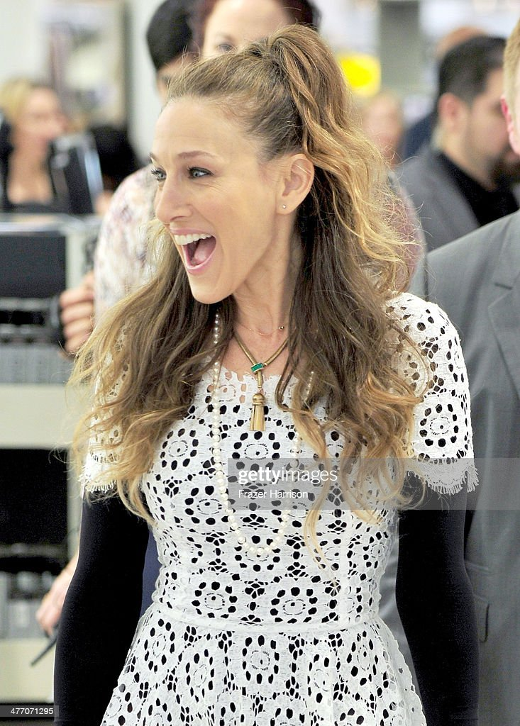 Sarah Jessica Parker presents The SJP Collection in Salon Shoes at Nordstrom in The Grove on March 6, 2014 in Los Angeles, California.