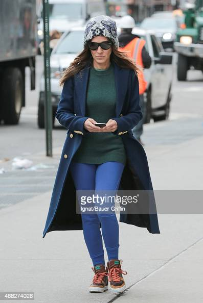 Sarah Jessica Parker seen on April 01 2015 in New York City