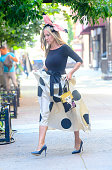 Celebrity Sightings In New York City - August 02, 2021