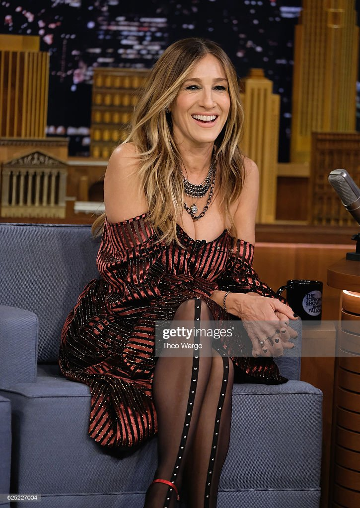 "Sarah Jessica Parker Visits ""The Tonight Show Starring Jimmy Fallon"""