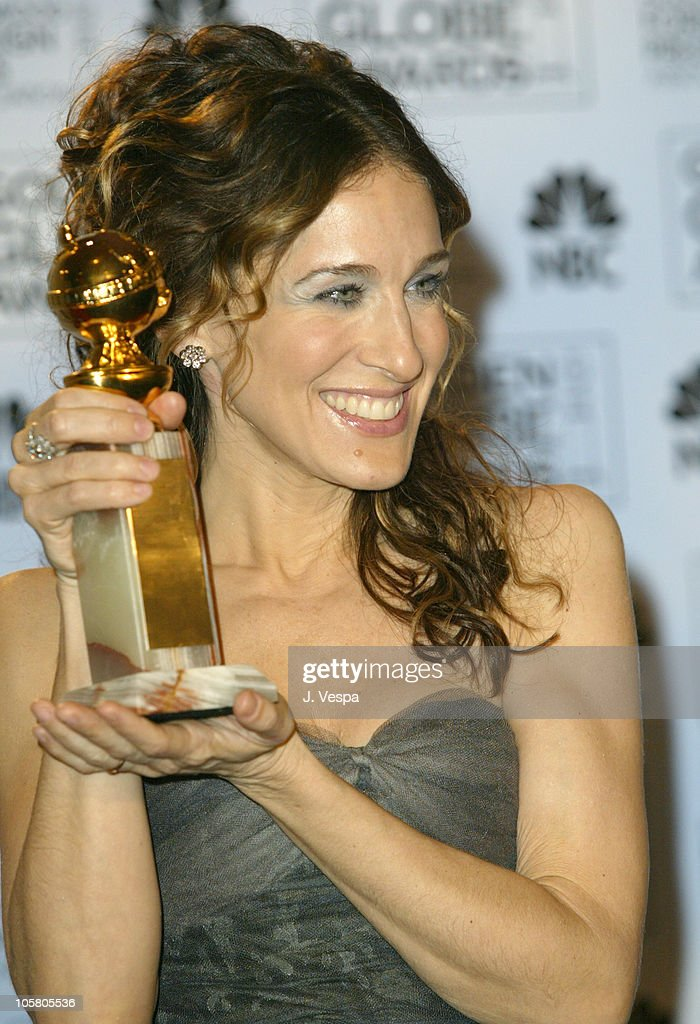 Sarah Jessica Parker, winner for Best Performance by an Actress in a Television Series for 'Sex and the City'