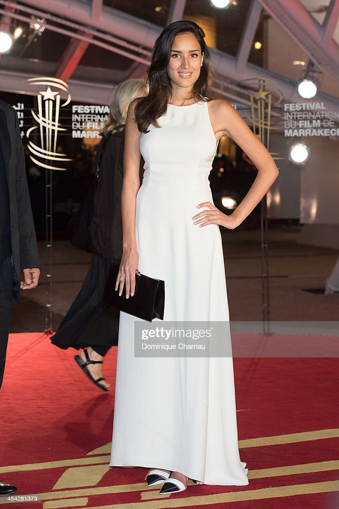 Sarah Kazemy attends the award Ceremony 2013' At 13th Marrakech International Film Festival on December 7, 2013 in Marrakech, Morocco.