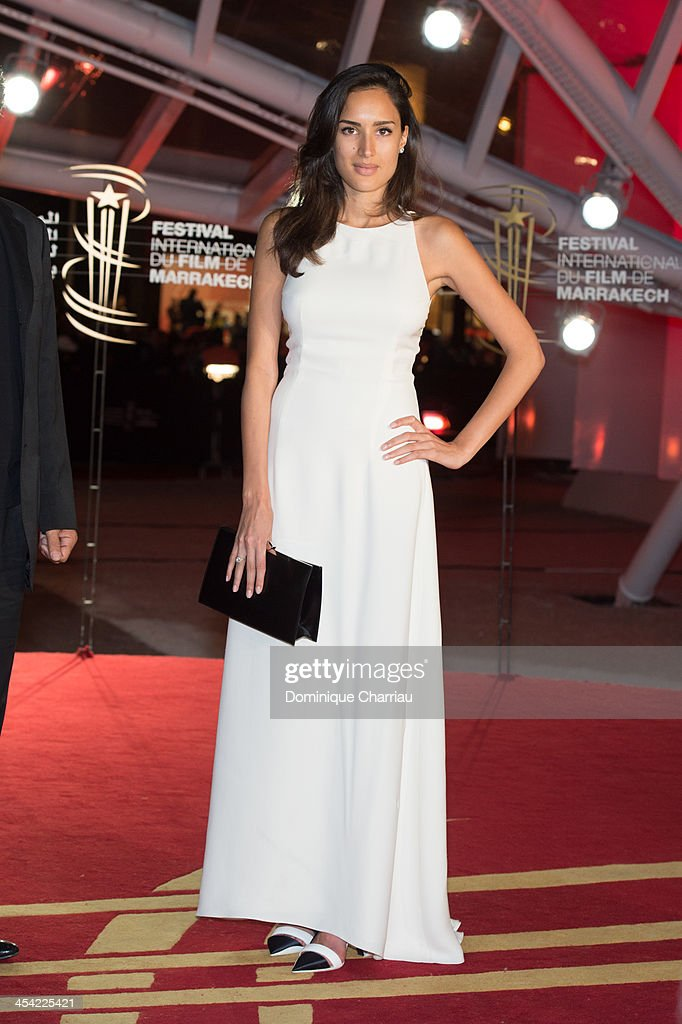 Sarah Kazemy attends the Award Ceremony of the 13th Marrakech International Film Festival on December 7, 2013 in Marrakech, Morocco.
