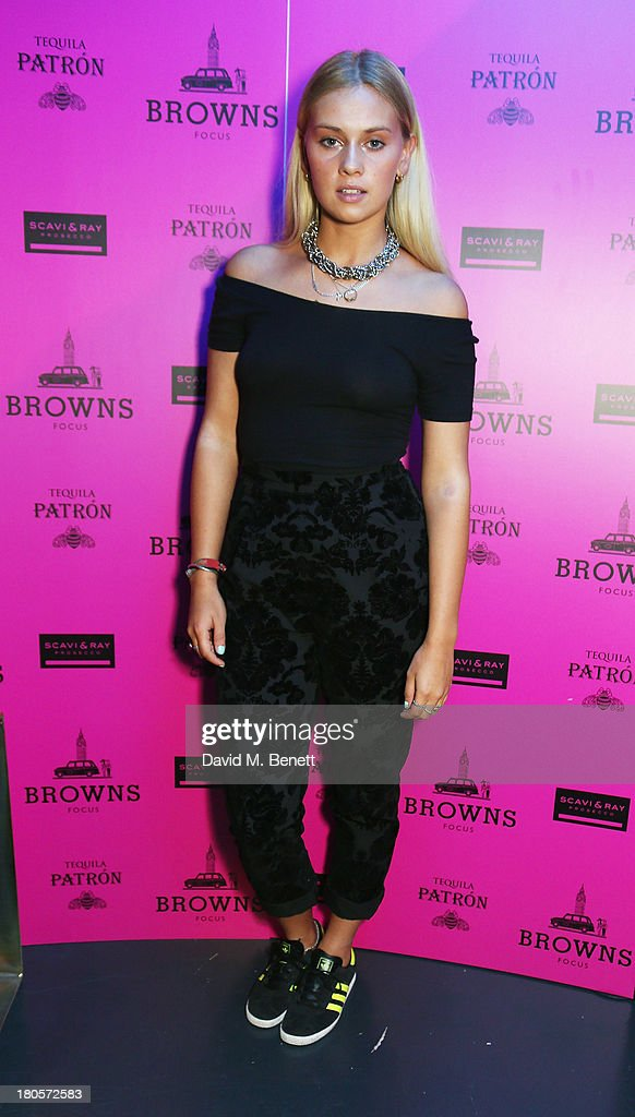 Sarah Keable attends the party hosted by Browns Focus & Designer Brian Lichtenberg to officially launch the NEW Browns Focus at 24 South Molton Street on September 14, 2013 in London, United Kingdom.
