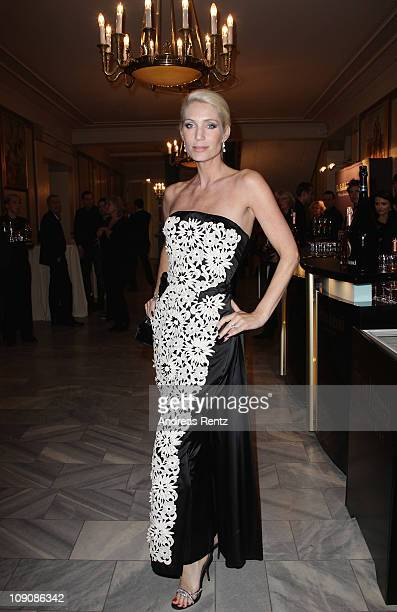 Sarah Kern attends the Cinema for Peace Gala at the Konzerthaus Am Gendarmenmarkt during day five of the 61st Berlin International Film Festival on...
